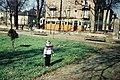 Gyerek portré és villamos, 1965. Fortepan 73574.jpg