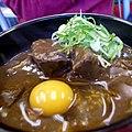 Gyudon curry by motomachi24 in Sapporo, Hokkaido.jpg