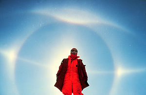 Parhelic circle - Image: HALO S south pole
