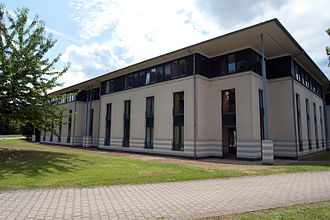 University of Düsseldorf - Student housing on campus (established in 1992).