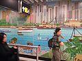 HK ALC 港鐵 MTR 海怡半島站 South Horizons Station platform wall mural Mosaics art 香港仔避風塘 Aberdeen Typhoon Shelter Soaring Horizons 翱遊半島 Pow Chuek Mei 鮑卓微 Dec 2016 Lnv2 10.jpg