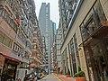 HK CWB 38 Haven Street 曦巒 Park Haven July-2014 ZR2 Lei Wen Building view Church.JPG