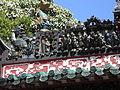 HK Kennedy Town Ching Lin Terrace 魯班先師廟 Lo Pan Temple roof decoration 03.JPG