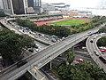 HK Wan Chai 尚匯 The Gloucester view Marsh Road Wan Chai Sports Ground March 2016 DSC.JPG