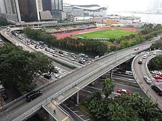 Wan Chai Sports Ground Stadium in Wan Chai, Hong Kong