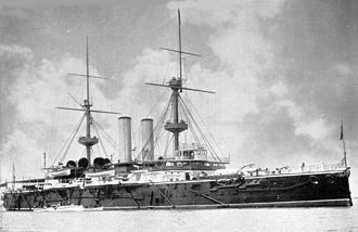 Naval Defence Act 1889 - The battleship HMS Royal Sovereign