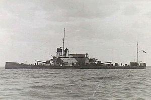 HMS Ladybird (1916) - Off Bardia on 31 December 1940