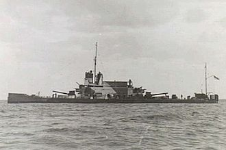 Gunboat - Image: HMS Ladybird 31 12 1940 Bardia AWM 005012