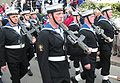 HMS Tyne sailors Liberation Day march past Jersey 9 May 2007.jpg