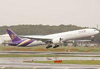 HS-TKQ - B77W - Thai Airways