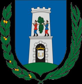 Counties of Hungary - Image: HUN Baranya megye COA
