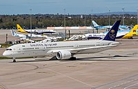 HZ-ARA - B789 - Saudi Arabian Airlines