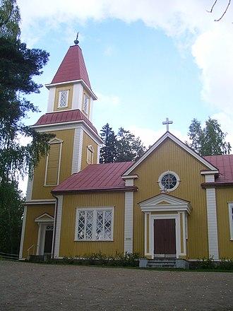 Urjala - Image: Halkivaha church