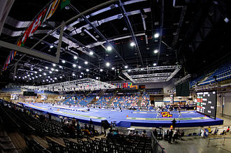 EuroBasket Women 2015 - Image: Hall A 2013 World Fencing Championships n 3