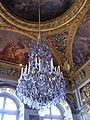 Hall of Mirrors, Palace of Versailles chandelier.JPG