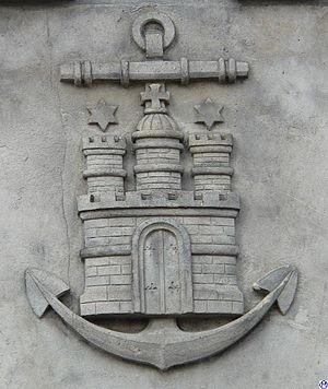 Admiralitätsmusik -  Emblem of the Hamburg Admiralty.