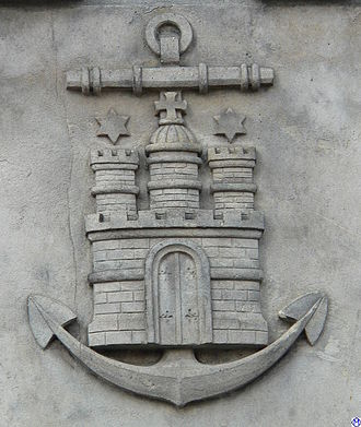 Admiralitätsmusik -  Emblem of the Hamburg Admiralty.