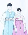 Hanbok groom Bride 201806660990148.png