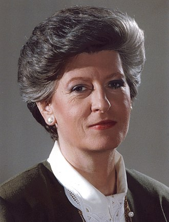 Ministry of Justice (Poland) - Image: Hanna Suchocka 1992 12 02