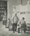 Hans Temple - Viktor Tilgner in seinem Atelier.png