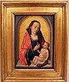 Hans memling (cerchia), madonna col bambino, 1490 ca..JPG