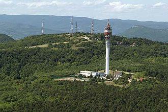 Hármashatár-hegy - Aerial photography