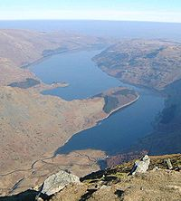 Haweswater Reservoir, as seen from Harter Fell