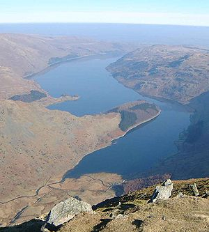 United Utilities - Haweswater Reservoir in Cumbria, constructed by the Manchester Corporation in 1929.