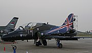 Hawk XX307 RAF, september 13, 2009