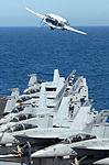 Hawkeye launches off USS Ronald Reagan DVIDS159960.jpg