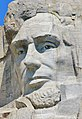 Head of Abraham Lincoln at Mount Rushmore.jpg