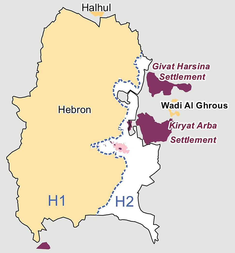 Hebron redeployment 1997