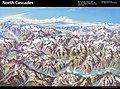 Heinrich Berann NPS Panorama of North Cascades with labels.jpg