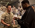 Heisman trophy winner, Herschel Walker speaks with Marines 150324-M-JH782-004.jpg