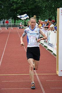 Heli Jukkola Finnish orienteering competitor