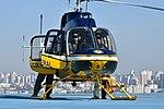 Helicóptero da PRF decola da sede estadual da instituição em Curitiba (37260879325).jpg