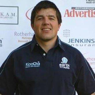 Rotherham Titans - Hendre Fourie who made his name at Rotherham