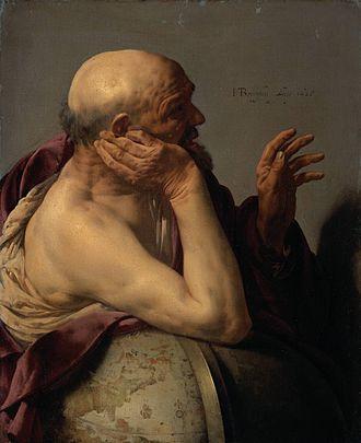 Heraclitus - Heraclitus by Hendrick ter Brugghen