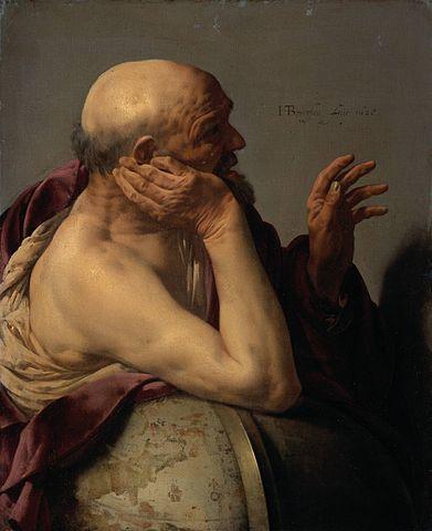 Хендрик Тербрюгген. Гераклит Эфесский, 1628