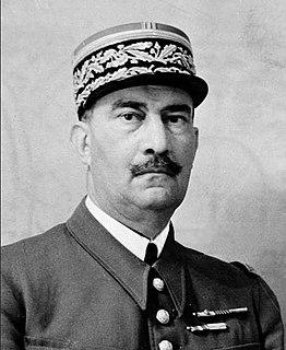 Henri Dentz French general