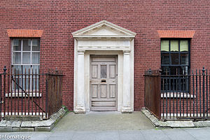 Nicholas Hume-Loftus, 1st Earl of Ely - Entrance to Loftus's town house 13 Henrietta Street, Dublin, August 2011