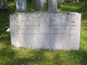 Henry Sloane Coffin - The gravesite of Henry Sloane Coffin