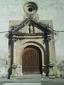 Herguijuela- Portada iglesia San Bartolomé.JPG