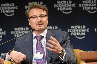 Ministry of Economic Development (Russia) - Image: Herman Gref World Economic Forum Annual Meeting Davos 2007