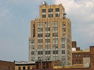 Mid-Town Historic District (Elizabeth, New Jersey) - Image: Hersch Tower