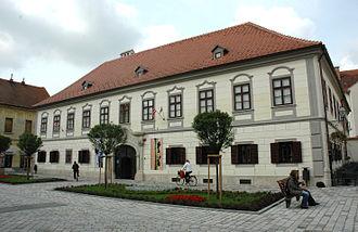 Varaždin - Herzer Palace.