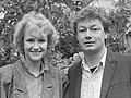 Hetty Heyting en Jan-Simon Minkema (1985).jpg