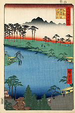 Hiroshige, Kumanojūnisha Shrine, 1856.jpg