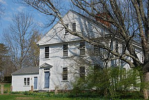 Dean-Barstow House - Image: Historic Home East Taunton