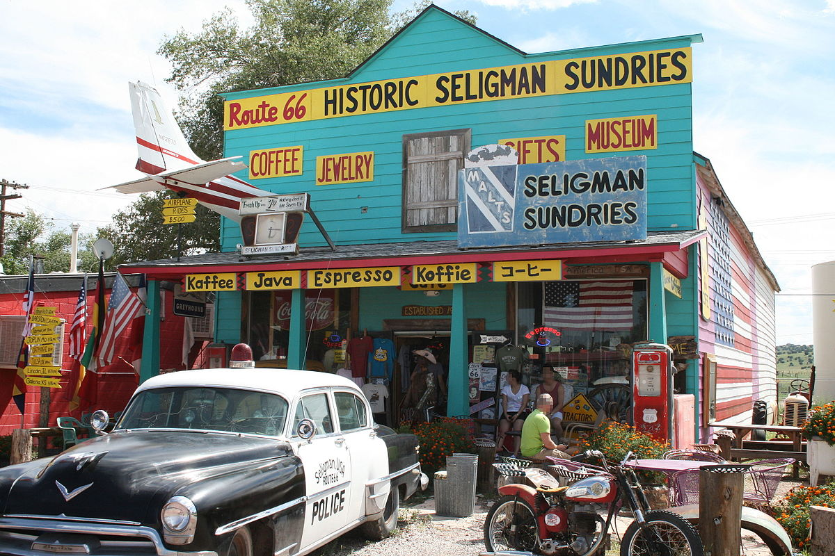 Seligman Commercial Historic District - Wikipedia